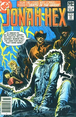 Cover for Jonah Hex #46