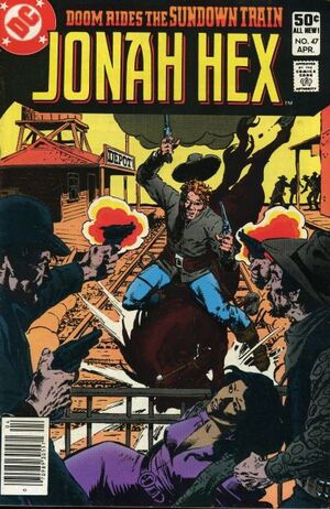 Cover for Jonah Hex #47