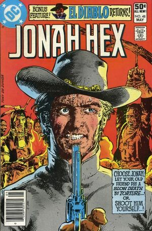 Cover for Jonah Hex #48