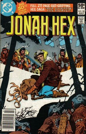 Cover for Jonah Hex #50
