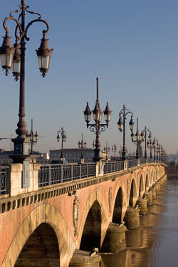 Bordeaux Pont de Pierre
