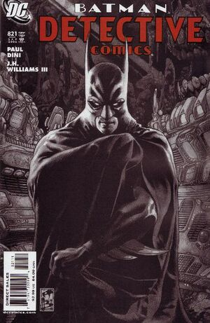 Cover for Detective Comics #821