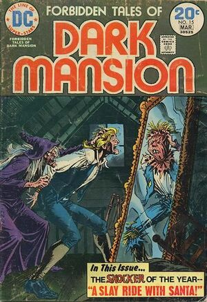 Cover for Forbidden Tales of Dark Mansion #15