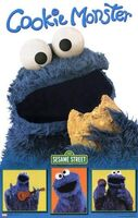 Cookiemonsterportraitposter