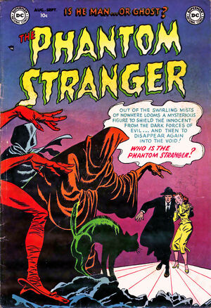 Cover for Phantom Stranger #1