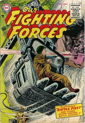 Cover for Our Fighting Forces #7
