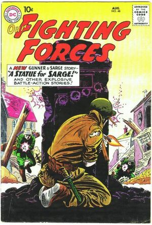 Cover for Our Fighting Forces #48
