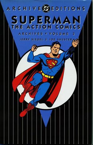 Cover for Action Comics Archives #3