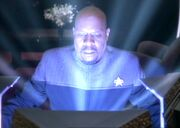 Orb experience Sisko