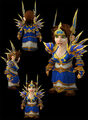 Lieutenant Commander's Arcanum gnome female