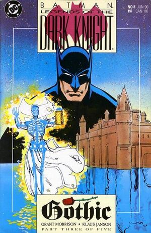 Cubierta para Batman: Legends of the Dark Knight # 8 (1990)
