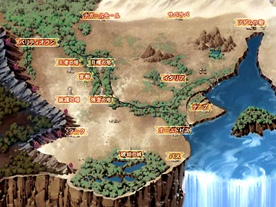Rance 6 - Map
