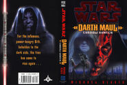 Darth Maul - Shadow Hunter Cover
