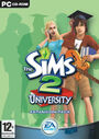 The Sims 2 University Cover