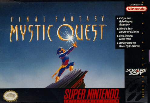 Final Fantasy Mystic Quest Box Art