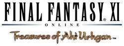 Final Fantasy XI  Treasures of Aht Urhgan Logo