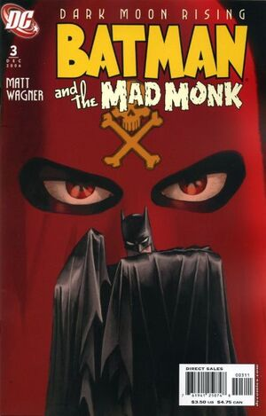 Cover for Batman and the Mad Monk #3