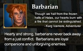 Barbarian (Character Race)