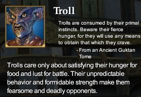 Troll (Character Race)