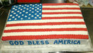 CakeAmericanFlag
