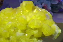 Large Sulfur Crystal