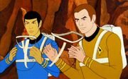 Aquatic support apparatus - kirk and spock