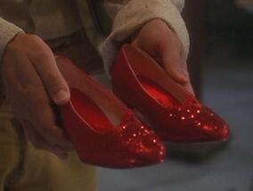 Red ruby slippers
