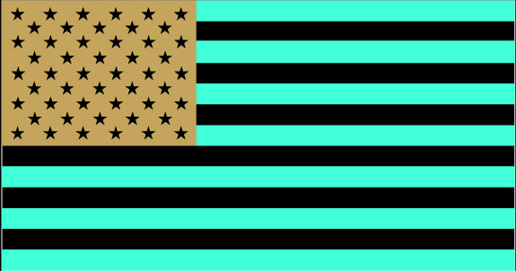 US flag(inverted)