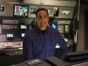 Jim Moorhouse as Enterprise tactical officer 2