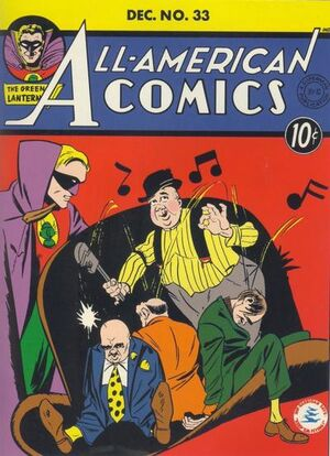 Cover for All-American Comics #33