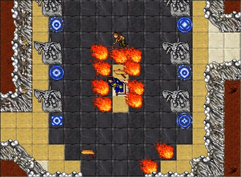 Pits of Inferno Quest Main Room