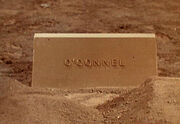 Oconnel tombstone