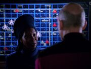 Guinan in einer alternativen Zeitlinie