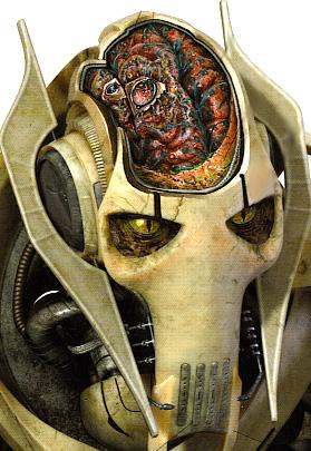 El rostro del General Grievous