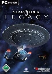 Star Trek Legacy Cover