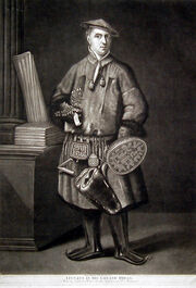 Carl Linnaeus dressed as a Laplander