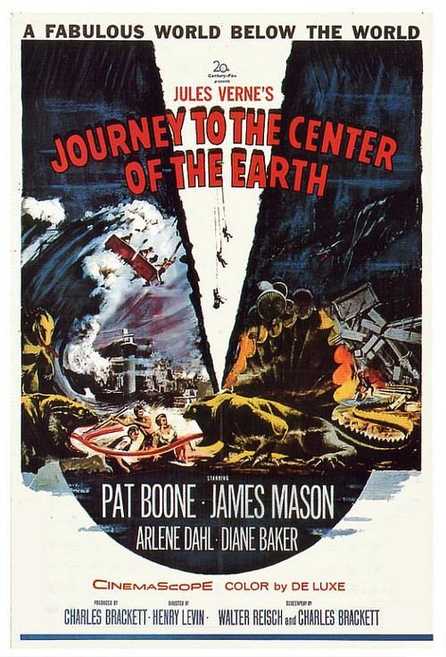 journey to the center of the earth 1959. Center of the Earth (1959