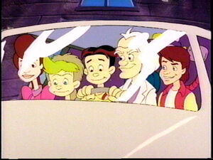 Back to the Future TAS Cast