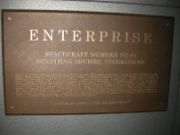 Enterprise NX-01 plaque