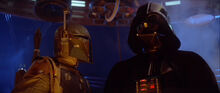 Darth Vader y Boba Fett