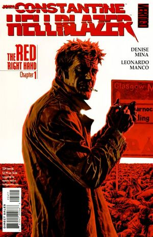 Cover for Hellblazer #224