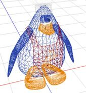 3D Penguin