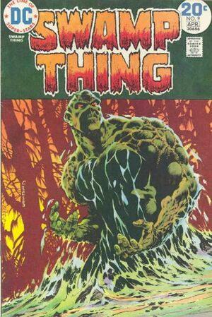 Cover for Swamp Thing #9