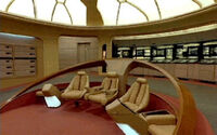 Galaxy class bridge command chairs
