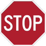 Stop sign MUTCD