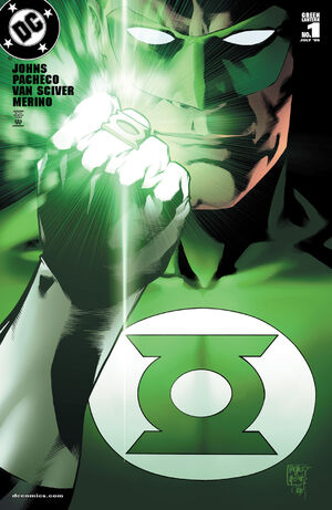 Cover for Green Lantern #1