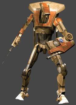 Air battle droid