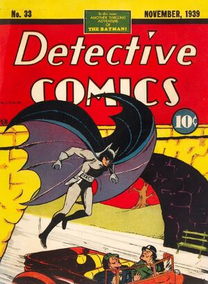 Cover for Detective Comics #33