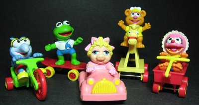 Muppet Babies Happy Meal Toys 1987 Muppet Wiki