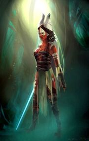 Shaak Ti TheForceUnleashed
